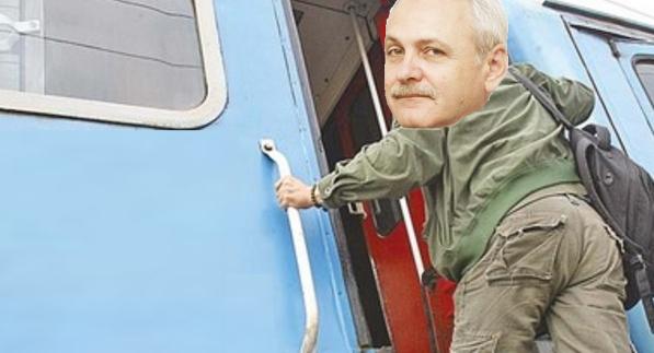 Dacă îl convingem peDragnea să urce în trenul de Iași, 2 ani nu mai auzim de el!