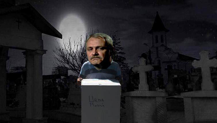 Disperare: În Teleroman se merge cu urna mobilăprin cimitire!