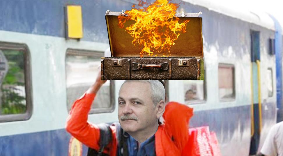 Daddy și-a dat foc la valiză!