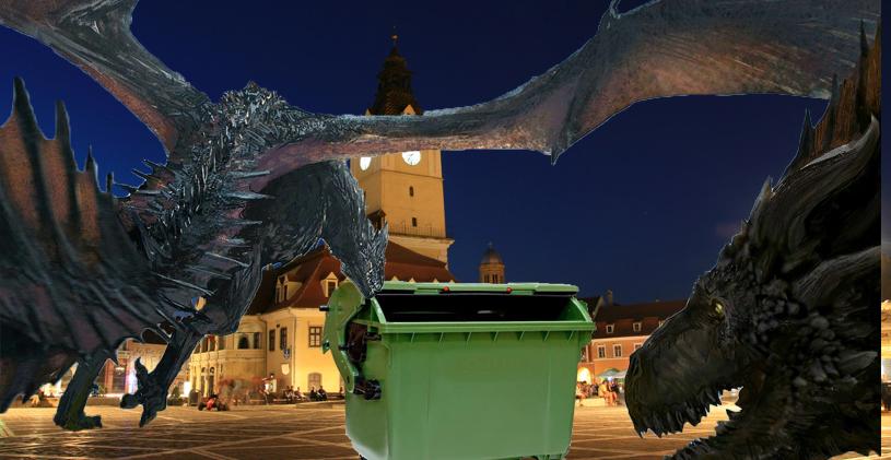 Sărăcie mare în Game of Thrones: dragonii coboară noaptea în Brașov ca să mănânce din tombeoane!
