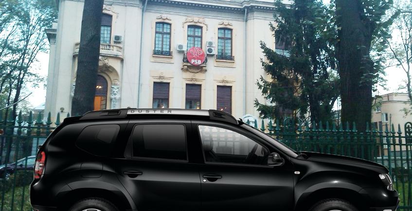 Panică la PSD după validarea Codruței Kovesi ca procuror șef european: în fața sediului a parcat un Duster negru cu geamuri fumurii!