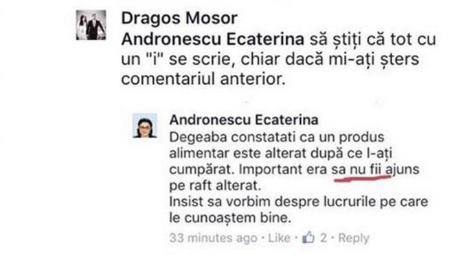 Și Ecaterina Andronescu e agramată!