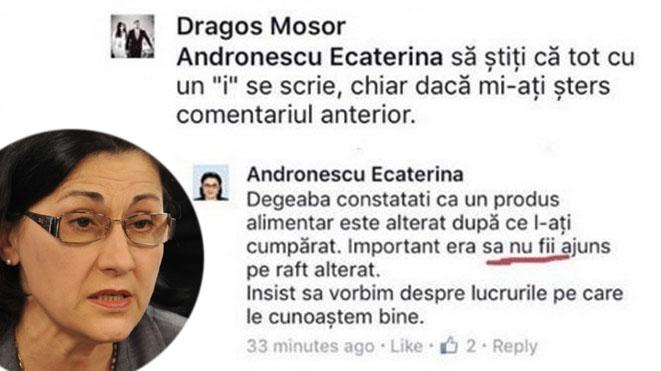 Duamna Andronescu vrea s-ă fie dăn nou ministră la Ieducație. Așa agramată cum o știm!