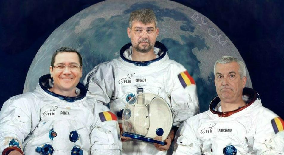 PSD şi PRO România vortrimite un echipaj pe Marte, pentru că în Madagascar nu se mai simt în siguranță!