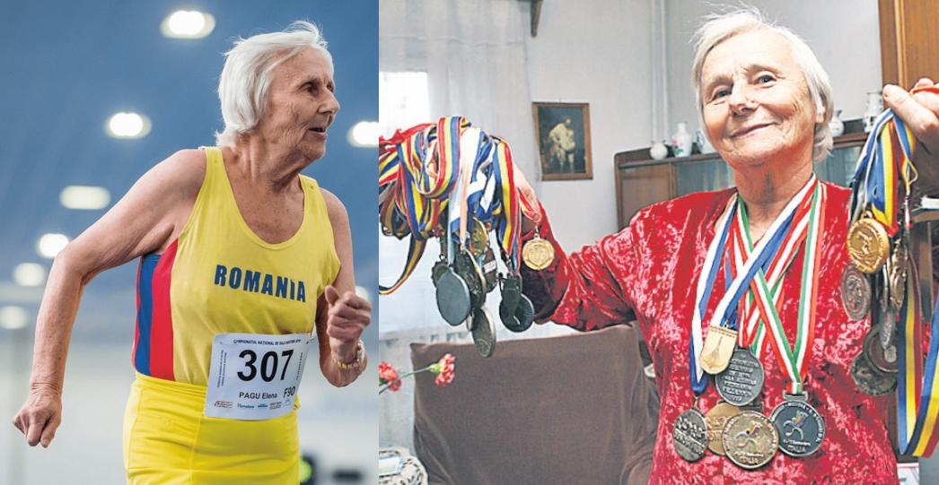 Are 91 de ani și câștigă medalii la maraton. Pentru că nu toți bătrânii stau la mila PSD-ului!