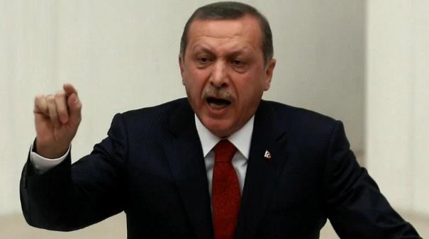 """Erdogan reacționează la scandalul de rasism provocat de arbitrul Colțescu: """"Acest ghiaur rasist trebuie ars împreuna cu femeia lui, femeia prima!"""""""