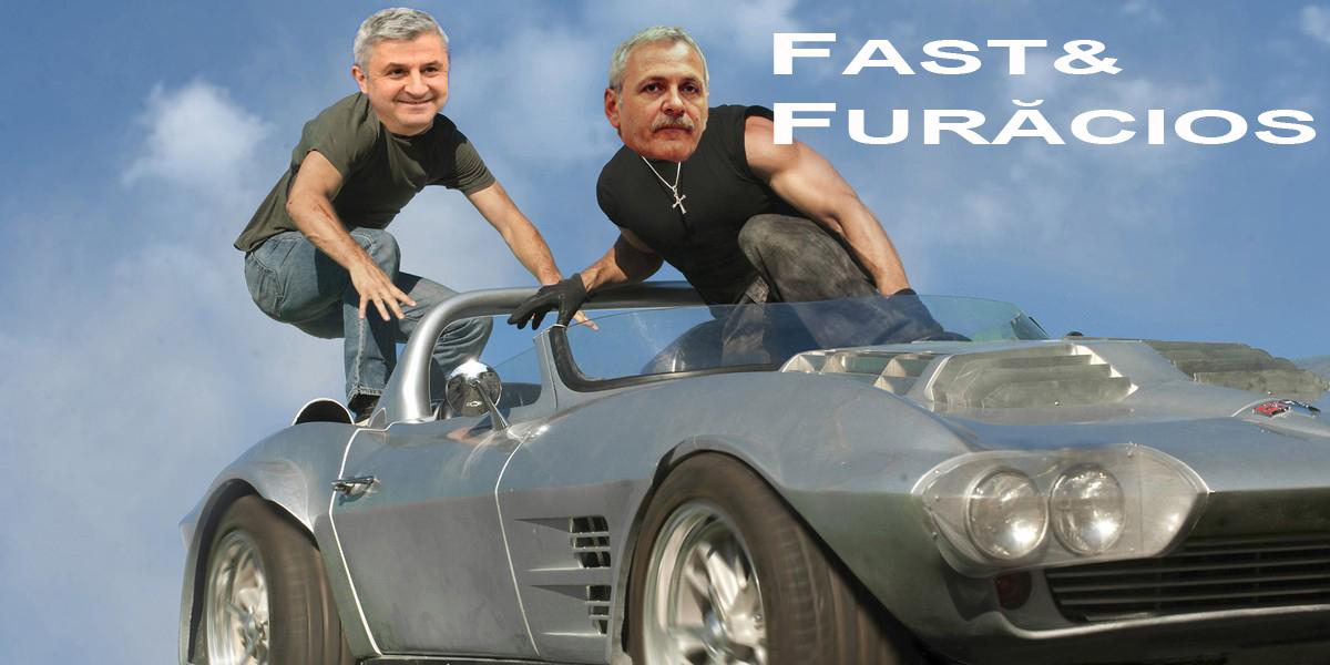 """Ciordache și Dragnea vor juca în """"Fast&Furăcios""""!"""