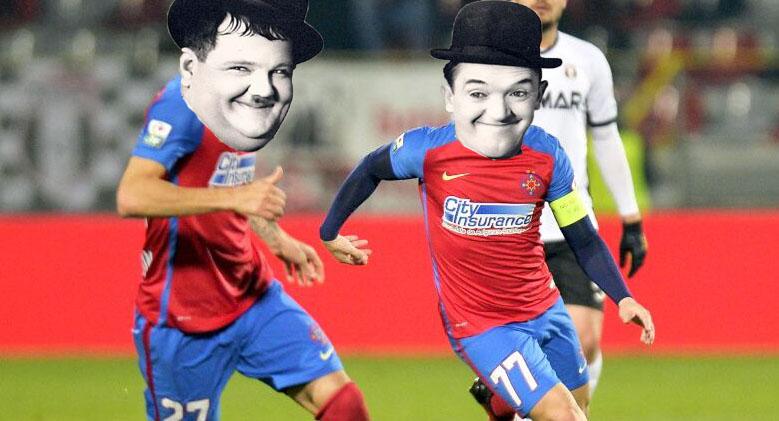 S-a aflat de la ce vine FCSB: de la Fotbal Club Stan şi Bran!