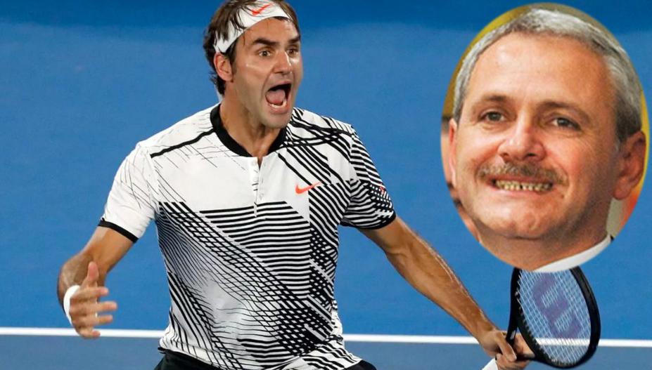 """Federer îi scrie lui Dragnea: """"Faceți la Teleorman și o arenă de tenis de nivel internațional, că vreau să vin!"""""""