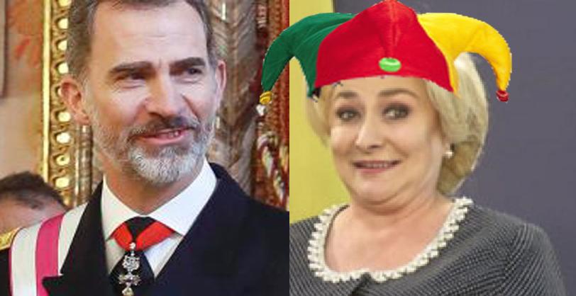 Motivul pentru care regele Spaniei a invitat-o pe Viorica la palat: i s-a îmbolnăvit bufonul!