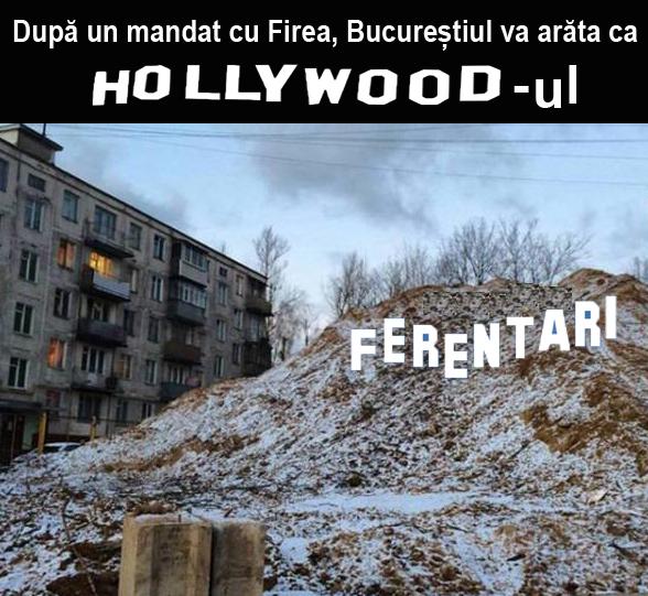 După un mandat cu Firea, Bucureștiul va arăta ca Hollywood-ul