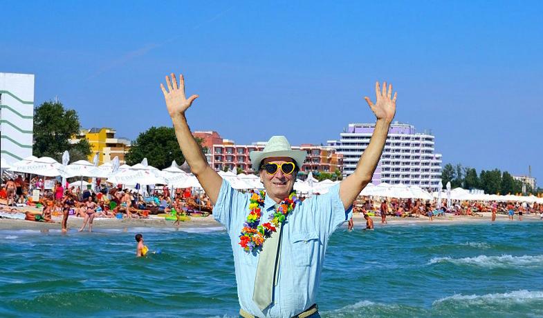Și-a vândut vila din Ibiza și s-a cazat o noapte la Mamaia!
