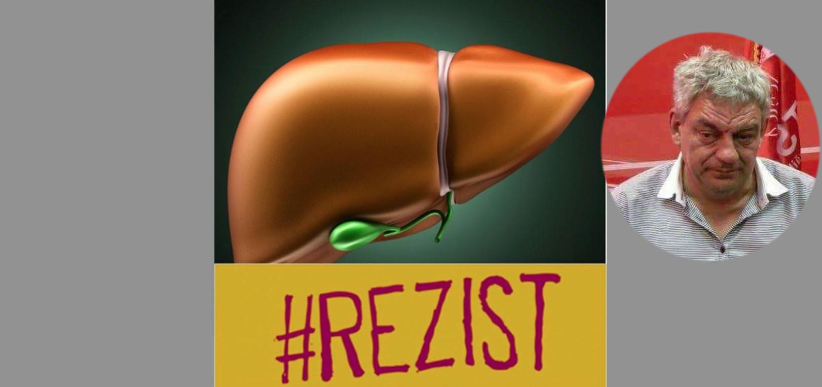 Ficatul lui Mihai Tudose și-a pus #REZIST la poza de profil!