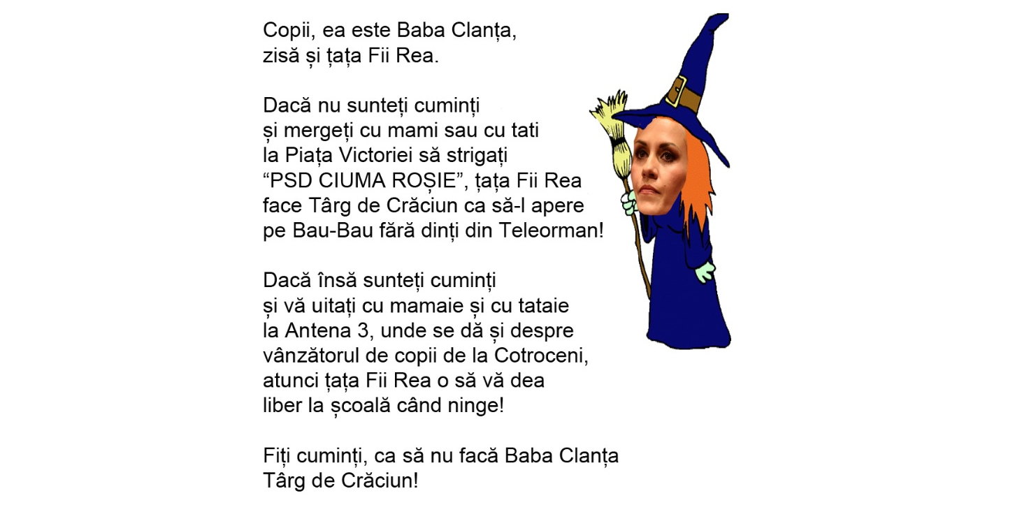Copii, fugiți de Baba Clanța, sluga lui Bau-Bau fără dinți din Teleorman!
