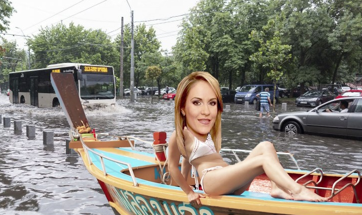 """Firea: """"Bucureșteanul gospodar își face vara sanie și iarna barcă!"""""""