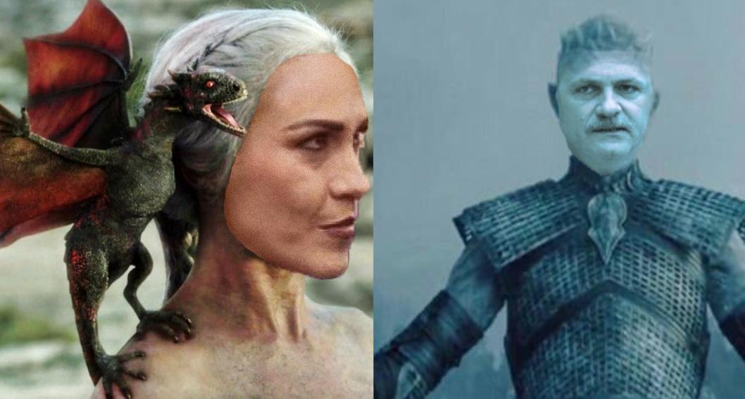 În sezonul 8, Khaleesi of Voluntari, fătătoarea de dragoni, îl transformă în moaște pe Night King of Teleorman!