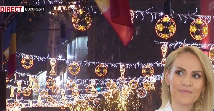 Primăria Bucureşti a cheltuit dublu fațăde Primaria Viena pentru luminițele de Crăciun. Sărakii ăia din Viena credeau că, dacă au apă caldă, sunt mai şmecheri decât noi!