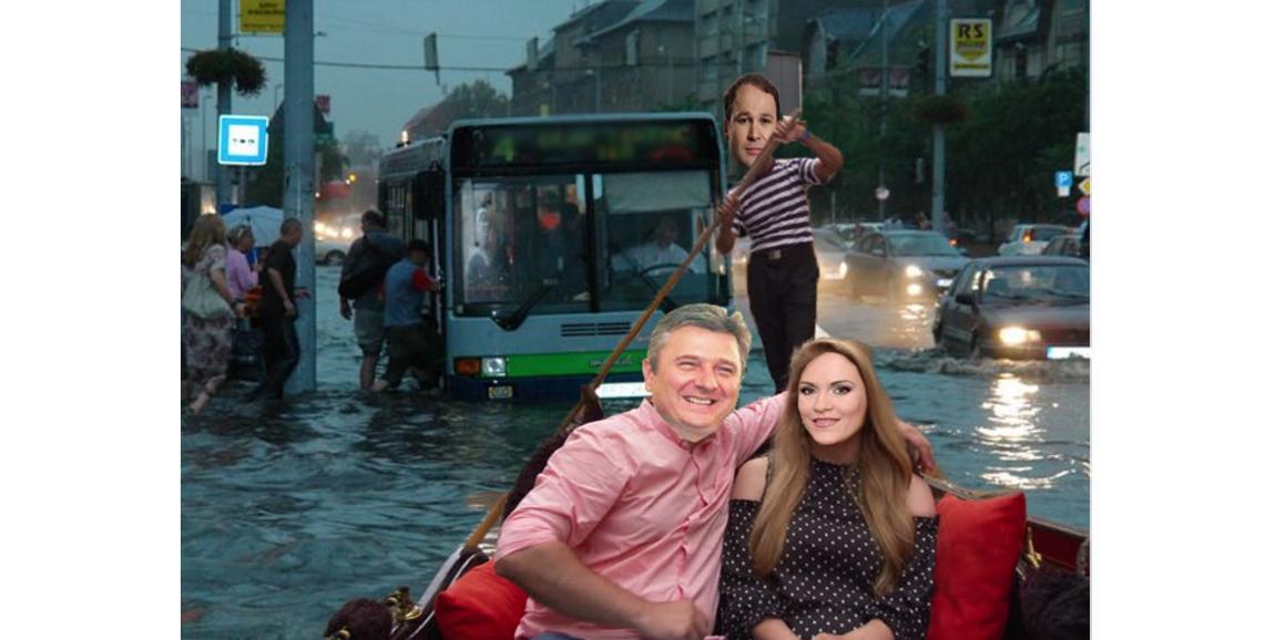 București, mica Veneție. Sau Voluntariul sărakilor!