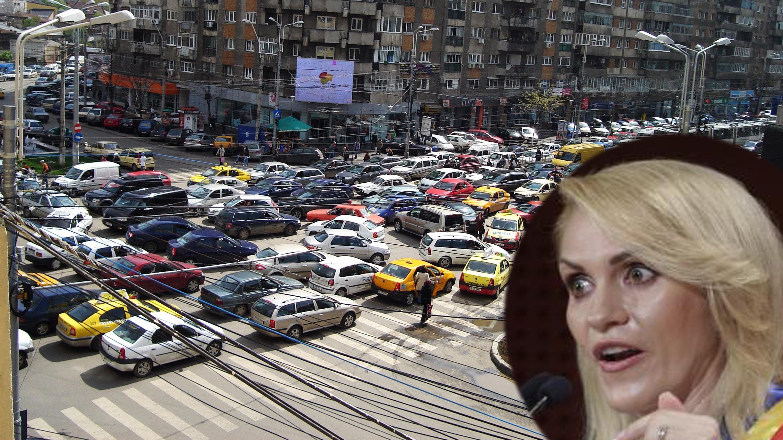 Firea: De vină pentru traficul din București sunt mașinile!