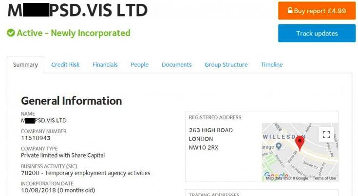 Un român a înființat în Anglia firma M…PSD. UNLIMITED!