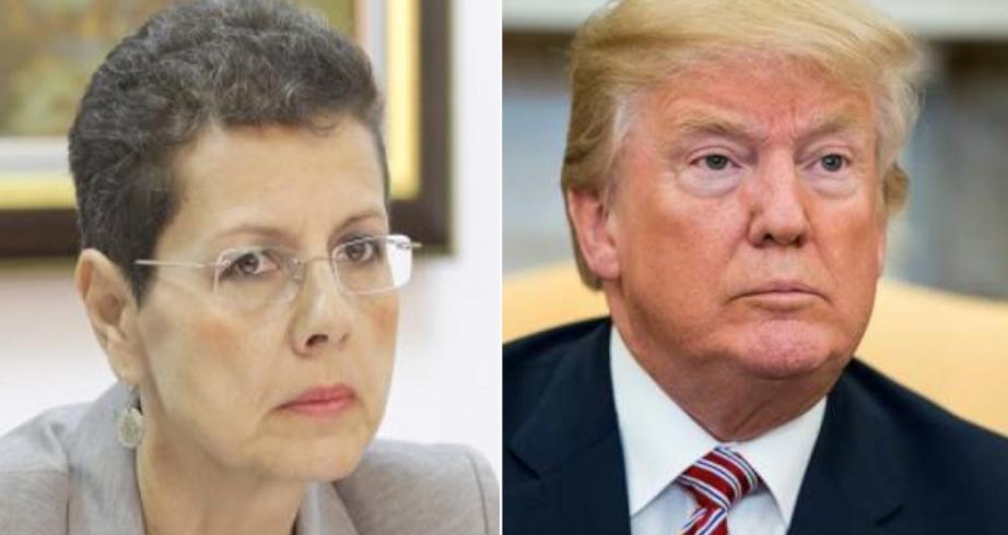 Donald Trump a sărit gardul în Mexic de frică să nu fie și el anchetat de Adina Florea!