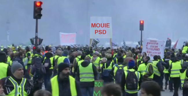 Panică în PSD: coloane de francezi se îndreaptă spre Piața Victoriei!