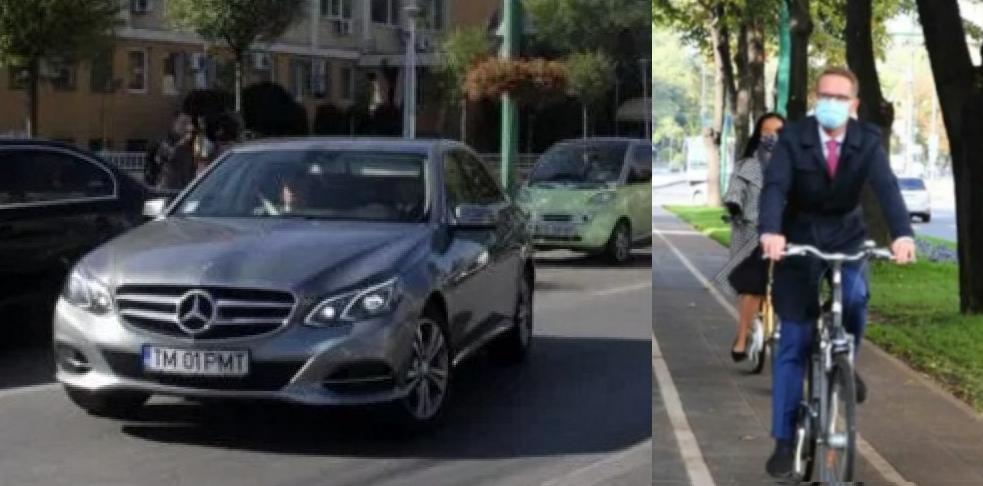 Dominic Fritz a returnat Mercedesul de 70.000 de euro cu care se plimba Robu, fiindcă îşi poate face treaba şi cu bicicleta. Das normalitate, nu populism!