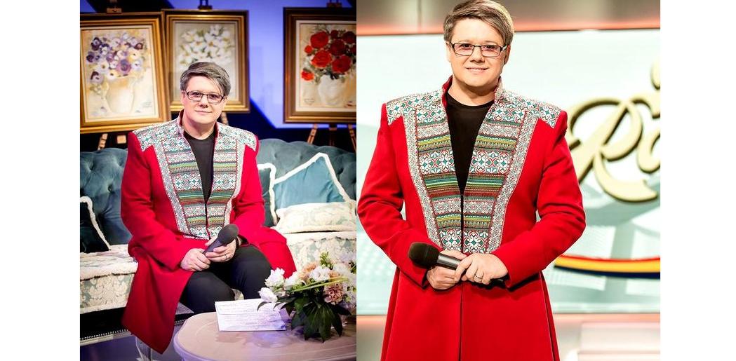 Rochia cu care o să aparăFuego la revelionul de pe TVR2. Despodobește, mamă, bradul, că orbim de la atâta glamour!