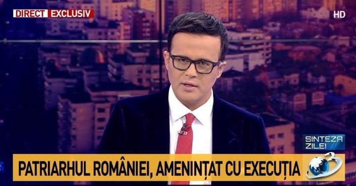 """Mihai Gâdea: """"Patriarhul României, amenințat cu execuția!"""" S-au întors asasinii lui Dragnea,acum vor să ne lase şi fără celălat lider spiritual!"""