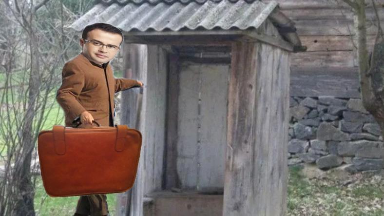 Jurnalistul Mihai Gâdea a găsit în curte o valiză cu kkt!