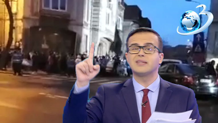 """Antena3: """"30.000 de protestari acum în fața DNA! Și mai vin!"""""""