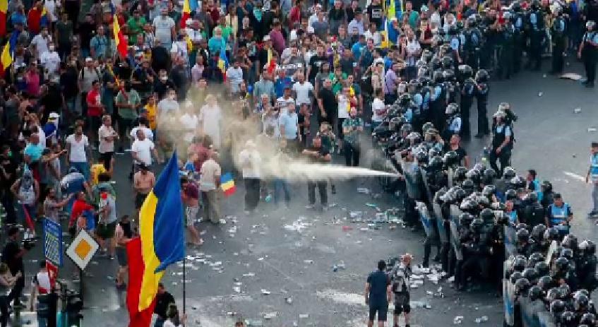 Pregătiri pentru 10 August: gazele jandarmilor vor avea o concentrație foarte mare de bromură, ca să limiteze cantitatea de M…PSD!
