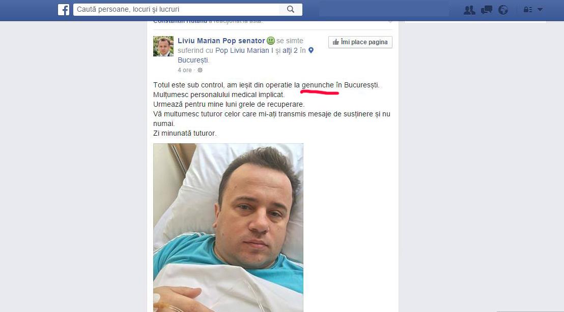 Azi e Ziua Limbii Române. Pe Liviu Pop îl doare genunchele, iar Veorica a leșinat!