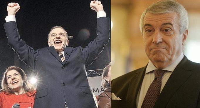 Mircea Geoana: Când mă uit la Tăriceanu, prind curaj!