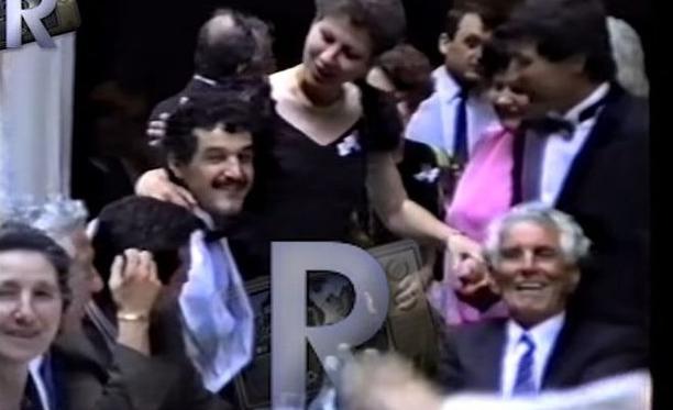 Gigi Becali în tinerețe, împreună cu iubitul lui de atunci!