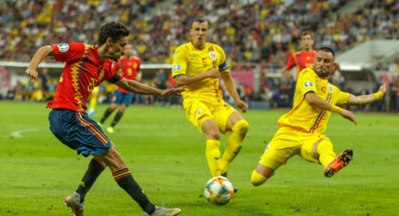Să rămânem pe teren la pauză, după ce ies spaniolii, şi să le dăm şi noi 4!
