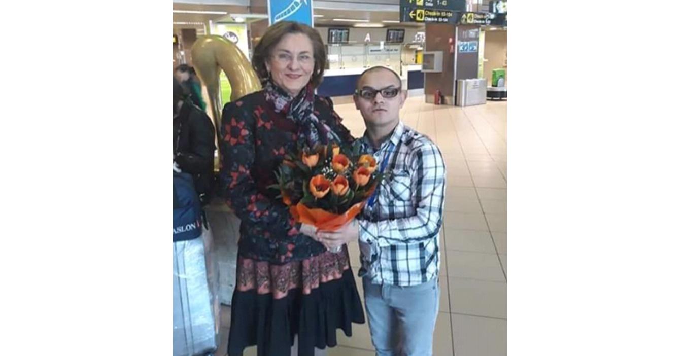 Maria Grapini a născut pe aeroport un băiat de 30 de ani!