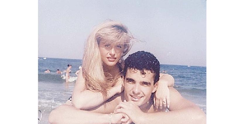Loredana Groza în 1993 filmând pentru prima manea din viața ei, alături de Costi Ioniță,care încă avea păr!