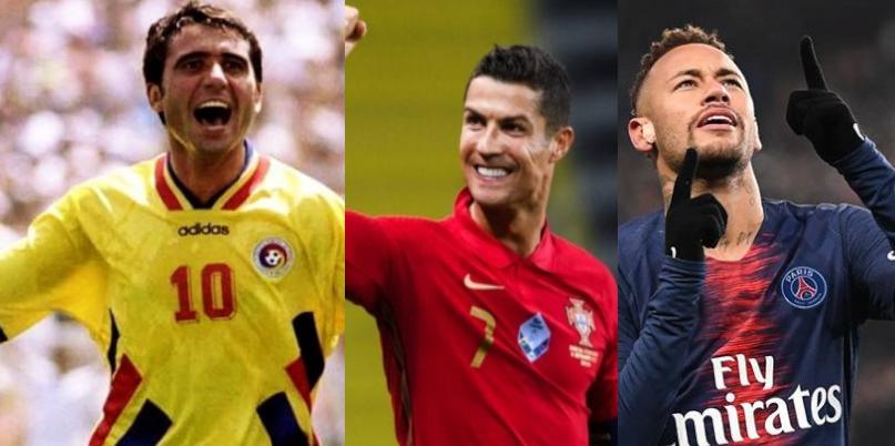 Astazi e ziua de naştere a lui Hagi, Ronaldo şi Neymar. A lui Alibec nu e