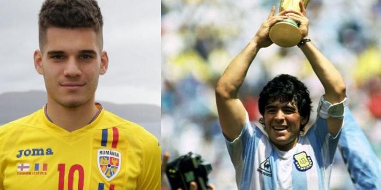 """Mesajul emoționant al lui Ianis la moartea lui Maradona: """"Ai fost mai bun decât noi doi, Zidane şi Cruff, la un loc!"""""""