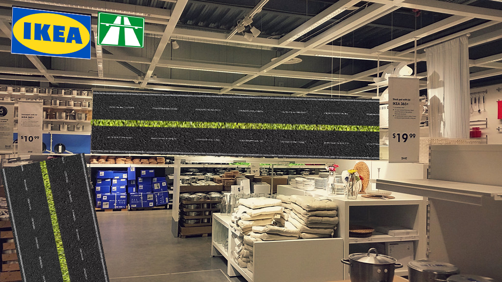 IKEA va vinde și autostrăzi! Îți montezi singur autostrada până unde vrei să mergi
