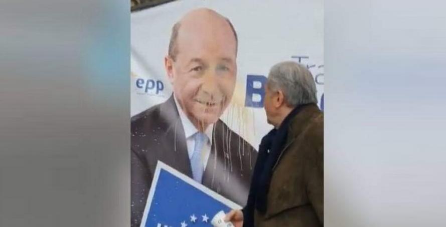Generalul de cacao Ilie Năstase aruncă cu cafea în Băsescu. Drept mulțumire că l-a făcut general