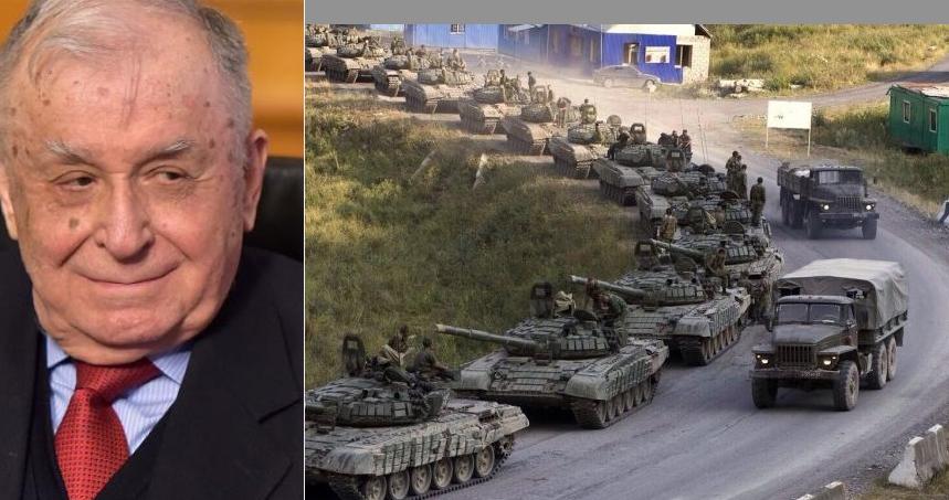 Ruşii susțin că trupele care se apropie de Ucraina merg de fapt la Bucureşti, ca să-i ureze sănătate lui Ion Iliescu!