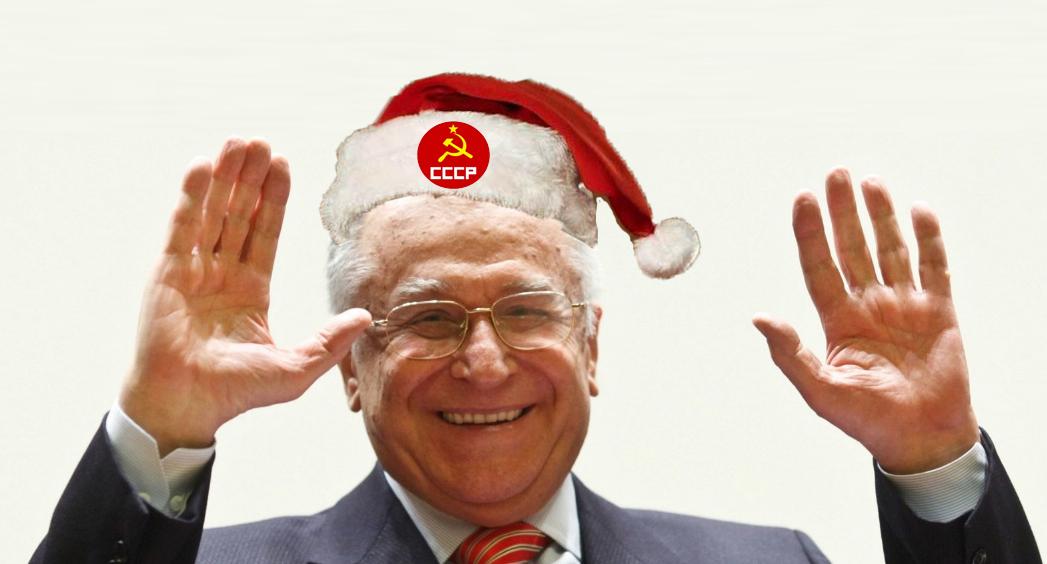 Cand era Moș Crăciun mic, la el venea Moș Iliescu!
