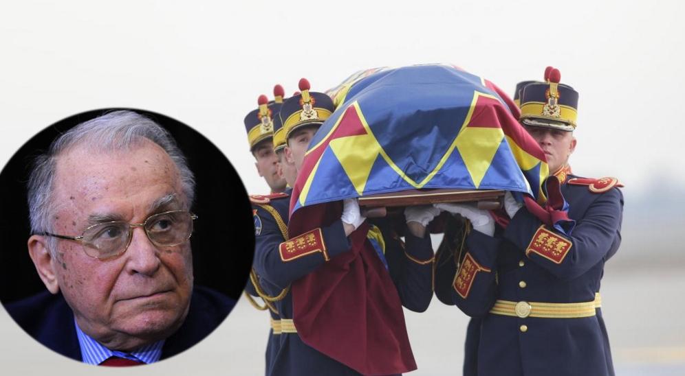 E oficial: Iliescu nu vine la înmormântarea regelui Mihai. Îi e frică să nu se ia!