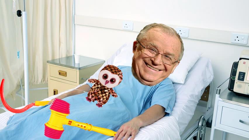Ion Iliescu a fost internat la pediatrie!