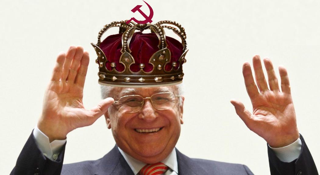 """Iliescu s-a încoronat rege al României: """"Eu nu am nevoie de succesori, sunt nemuritor!"""""""