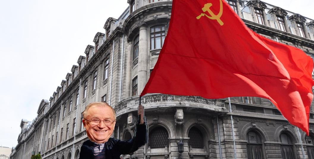 Iliescu a ieşit la Universitate cu steagul URSS după ce a auzit că Bucureştiul a intrat în scenariul roşu!