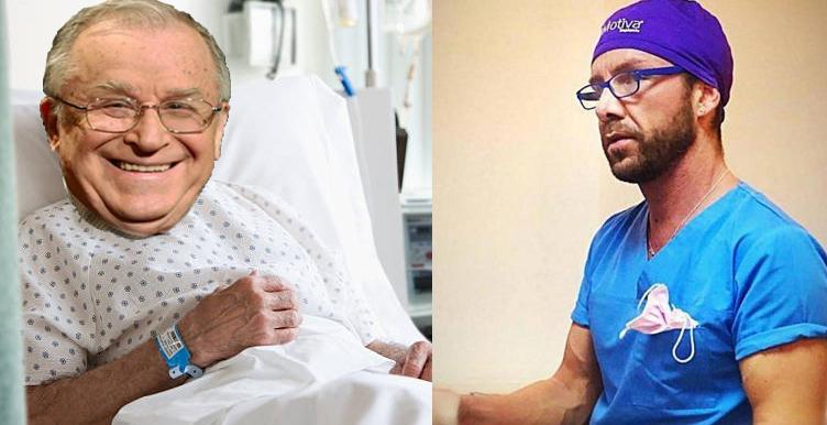 E momentul ca chirurgul italian să-și repare reputația operându-lpe Iliescu!
