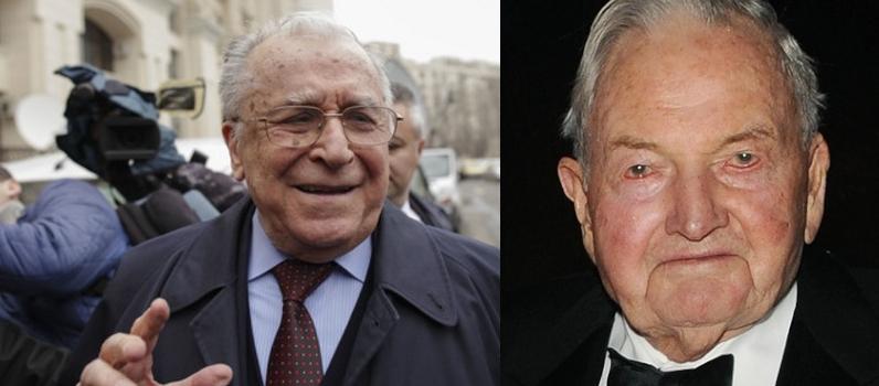 """Iliescu, șocat că a murit Rockefeller: """"Atât de tânăr și s-a prăpădit?"""""""